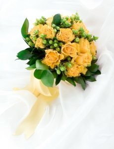 Gelbe – Brautsträuße