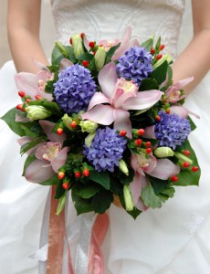 Lila – Brautsträuße