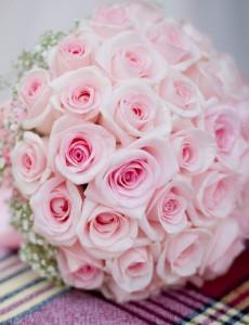 Roséfarbene – Brautsträuße