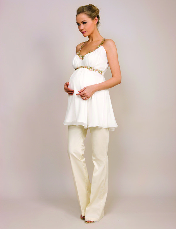 Grecian Top (with SlimFlit Trousers)