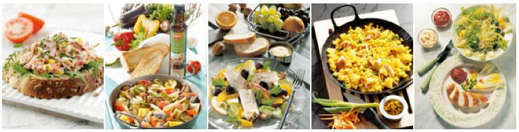 gesundes Essen für Hochzeitsdiät
