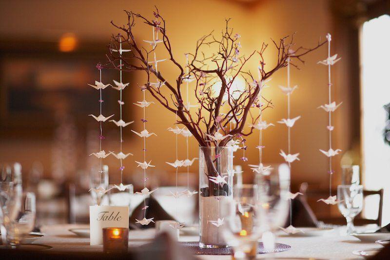 Hochzeitsbudget senken mit gebastelter Hochzeitsdeko