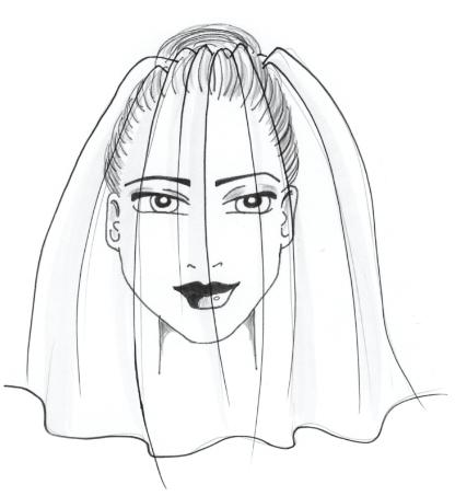 Blusher Brautschleier