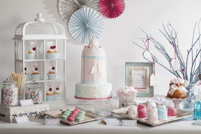 Inspiration Hochzeit Candybar 129 V Candybar Vintage Links Cupcakes