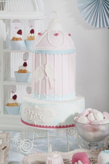 Inspiration Hochzeit Candybar V 165 Candybar Vintage Torte