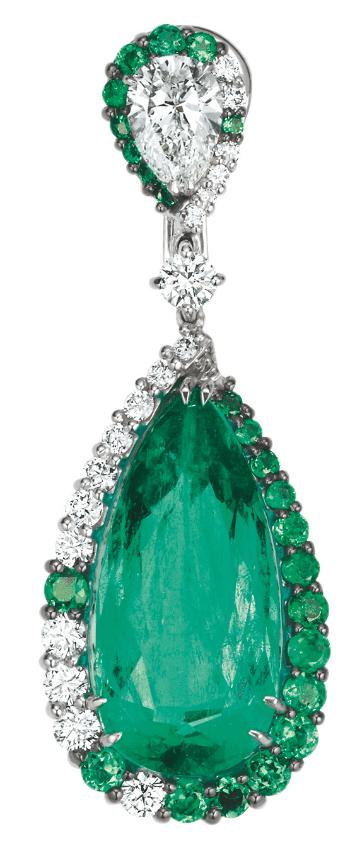 Grün ist die Hoffnung - und die Schönheit: mit den Smaragd-Ohrringen von Wempe