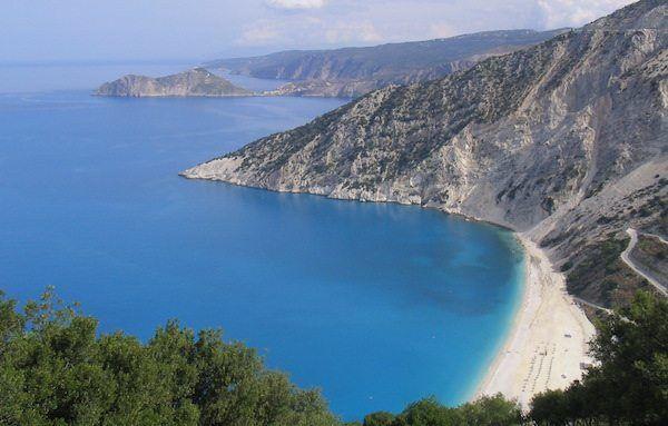 Myrtos Beach Griechenland