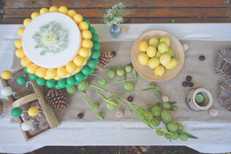 nachhaltige Botanical Hochzeit