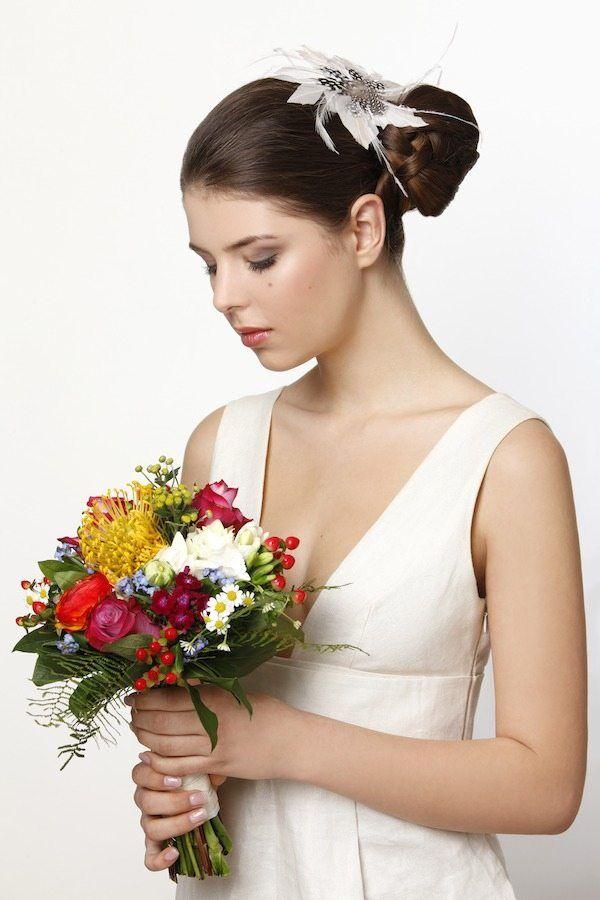 Hochzeitsfrisur Seitenzopf