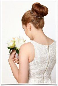 Brautfrisuren Dutt