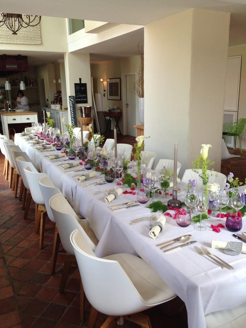 Hochzeitslocation Tisch Bankett