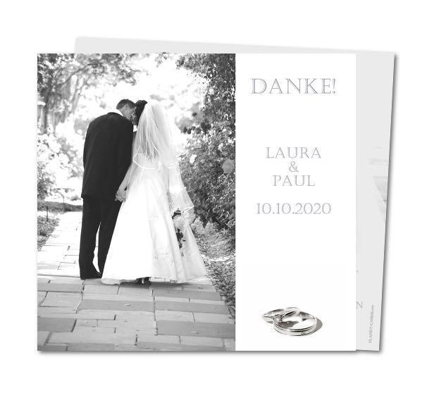 Hochzeitskarte auf Planet-cards.de