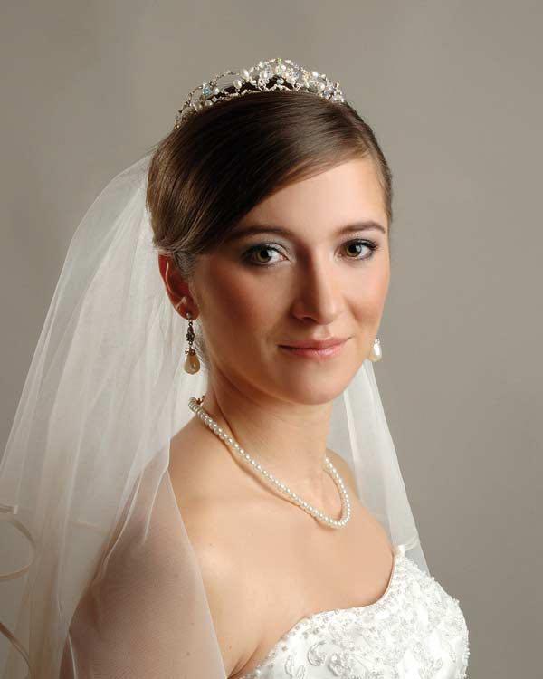 Klassische Brautfrisur Mit Schleier Heiraten Mit Braut De