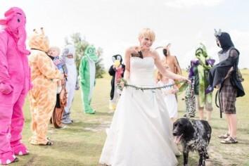 Hochzeit verrückt