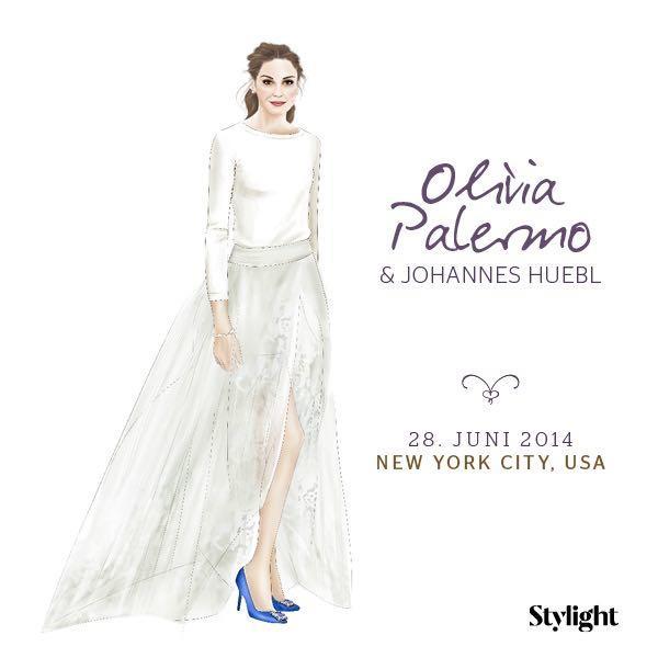 Olivia Palermo in ihrem Brautkleid
