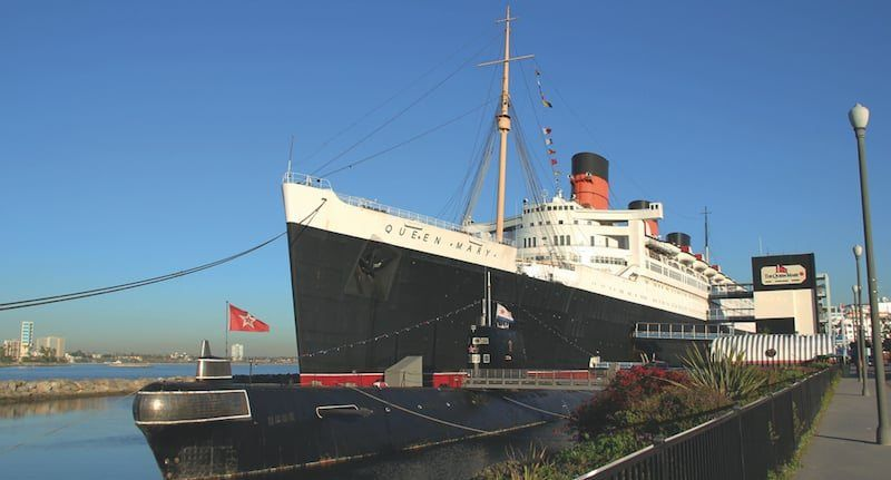 Hotel The Queen Mary in Kalifornien, USA