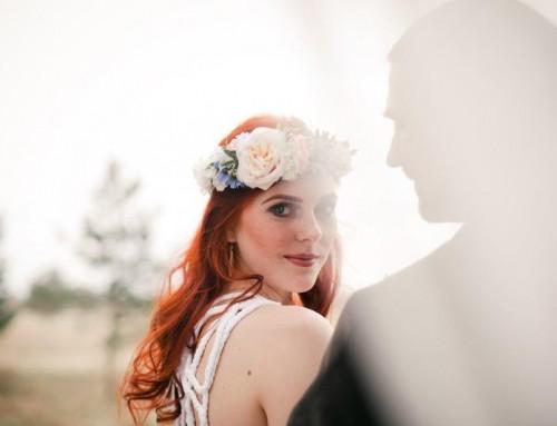 Styled Shoot: alternativ-romantische Boho-Hochzeit