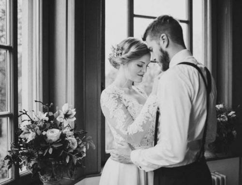 Hochzeitsinspirations-Shooting: Klassik trifft Moderne