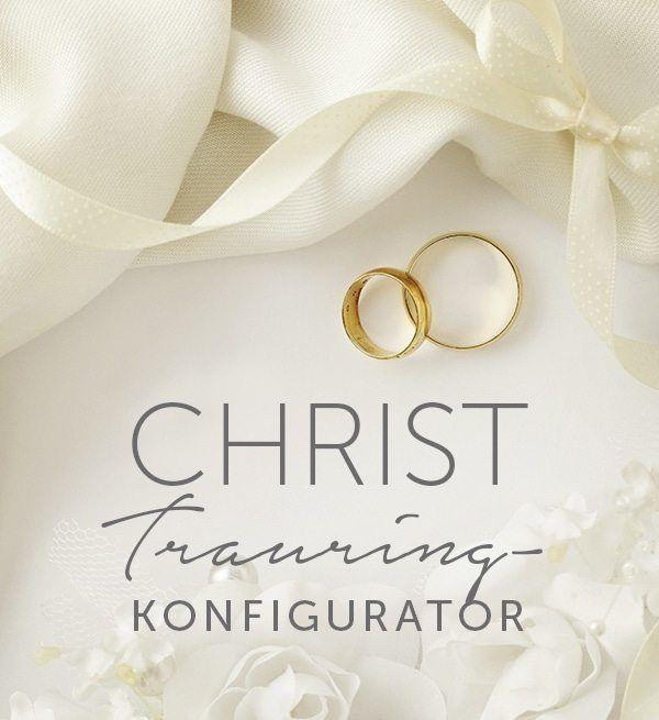 Christ Trauring Konfigurator