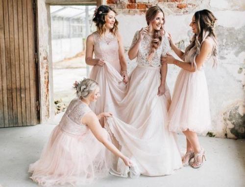 Wedding Style Shoot ganz in Rosa