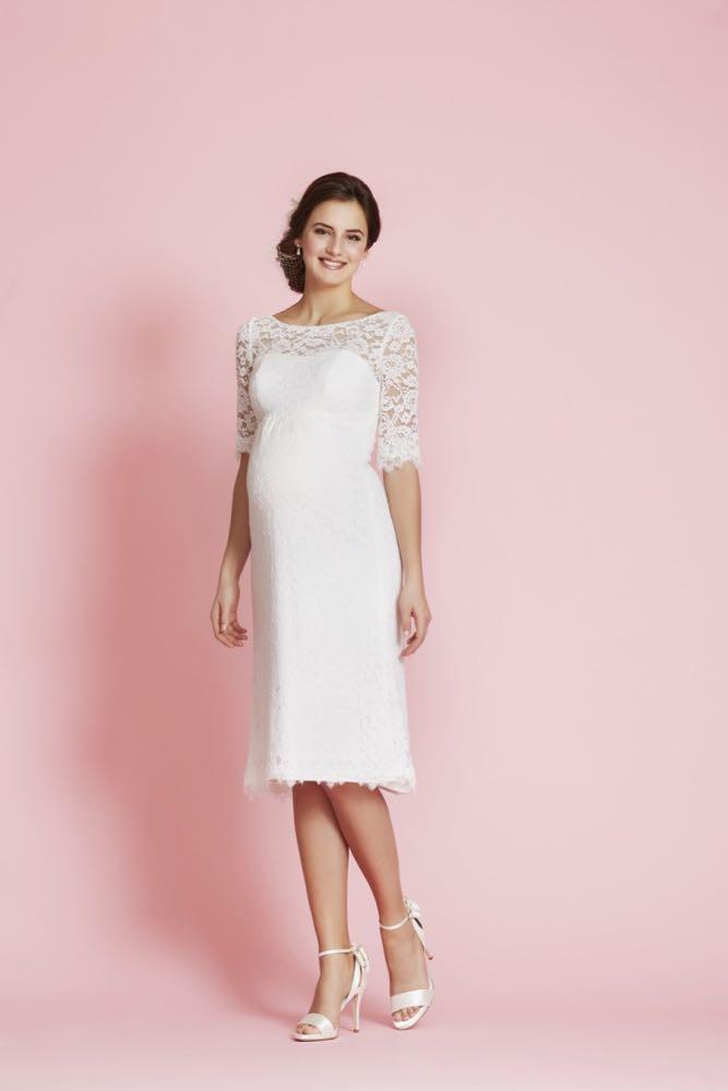 Brautkleid für Schwangere von Lilly, Style 08-2604-CR