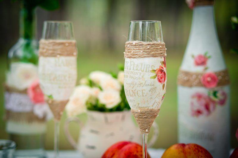 Getränke auf der Hochzeit