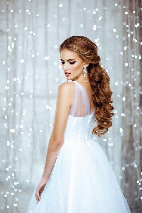 glamouröse Braut