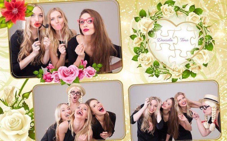fexobox Fotobox für die Hochzeitsfeier
