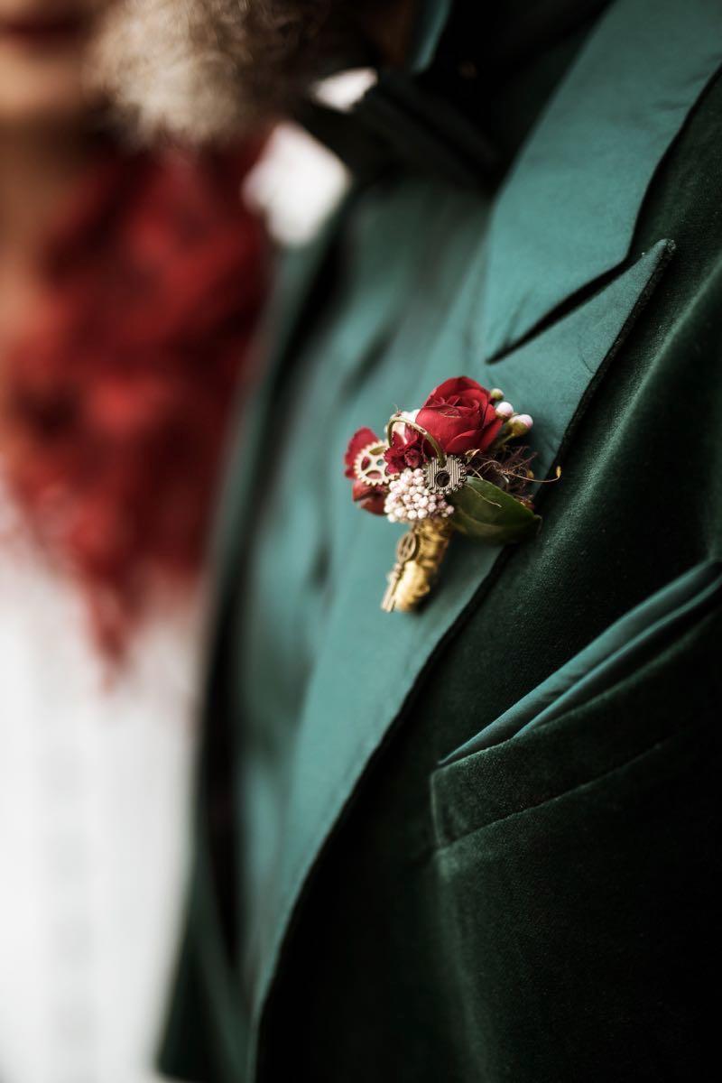 Steampunk Trifft Romantik Hochzeits Style Shoot