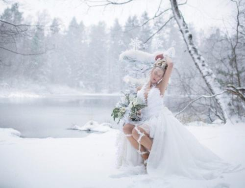 Bridal Style Shoot: Schneekönigin
