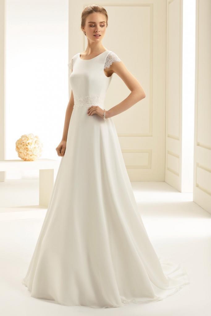brand new c0774 f0396 Einfach Spitze! Hochzeitskleider aus dem noblen Trendstoff
