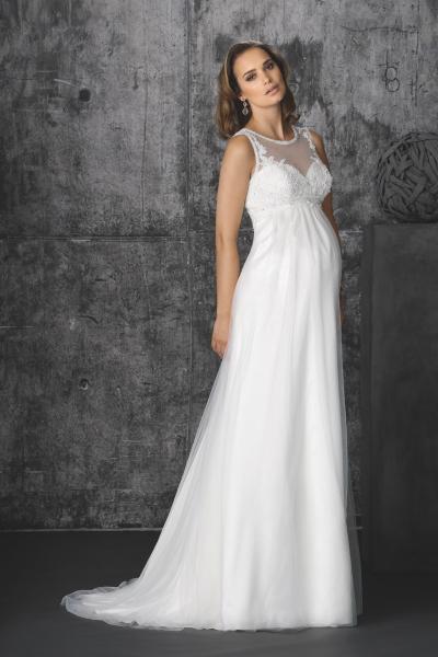 Brautkleid von Brinkman für Schwangere