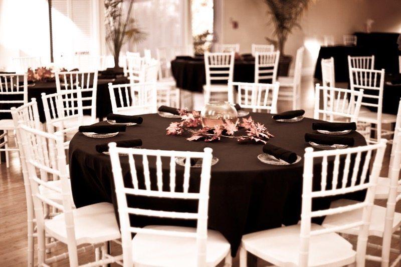 Hochzeitsfarbe Schwarz und Weiß