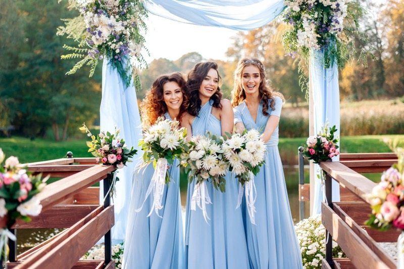 Hochzeitsfarbe Blau