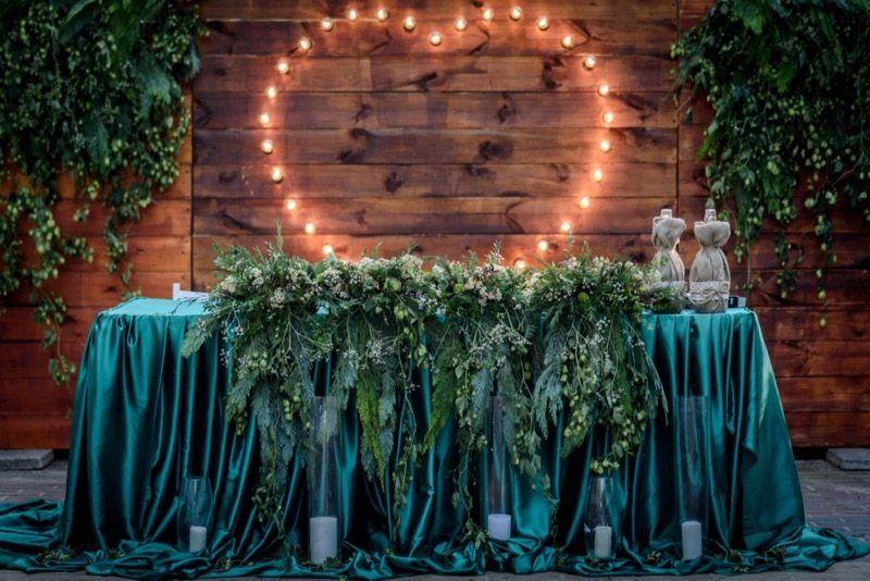 Hochzeitsfarbe Grün