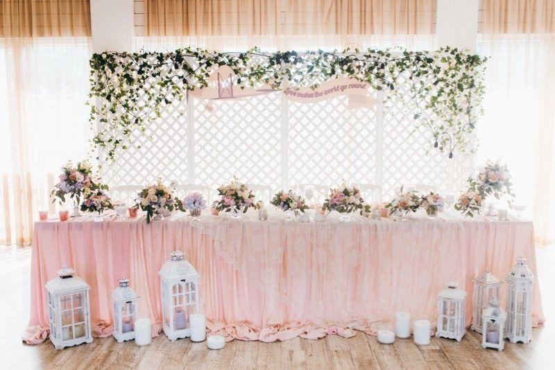 Hochzeitsfarbe Rosa