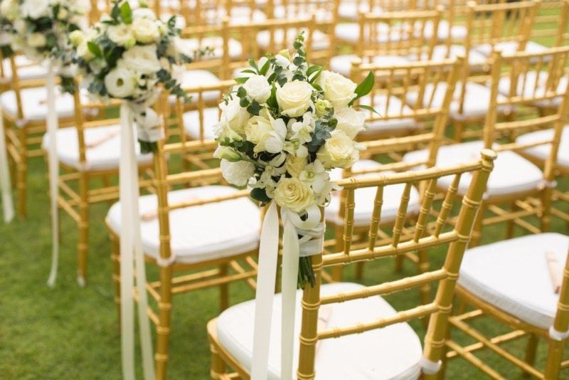 Hochzeitsfarbe Gold