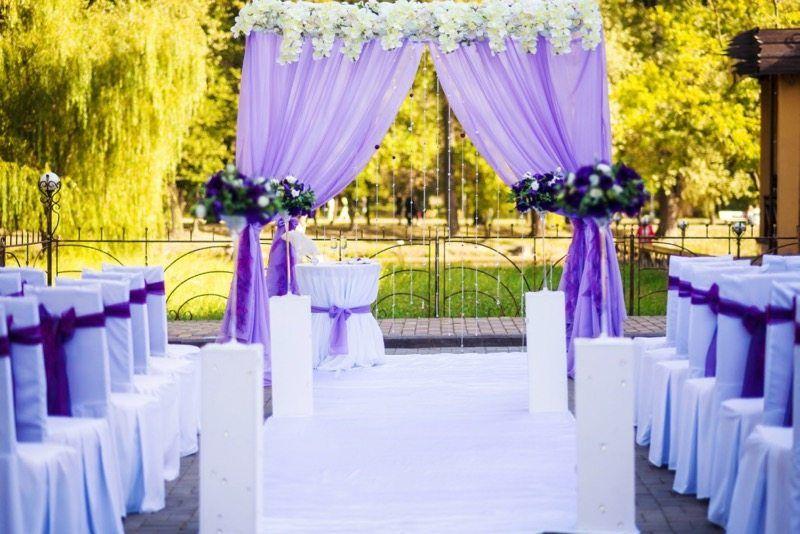 Hochzeitsfarbe Violett