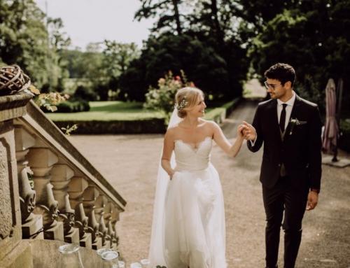 Wunderbare Hochzeit im Grünen