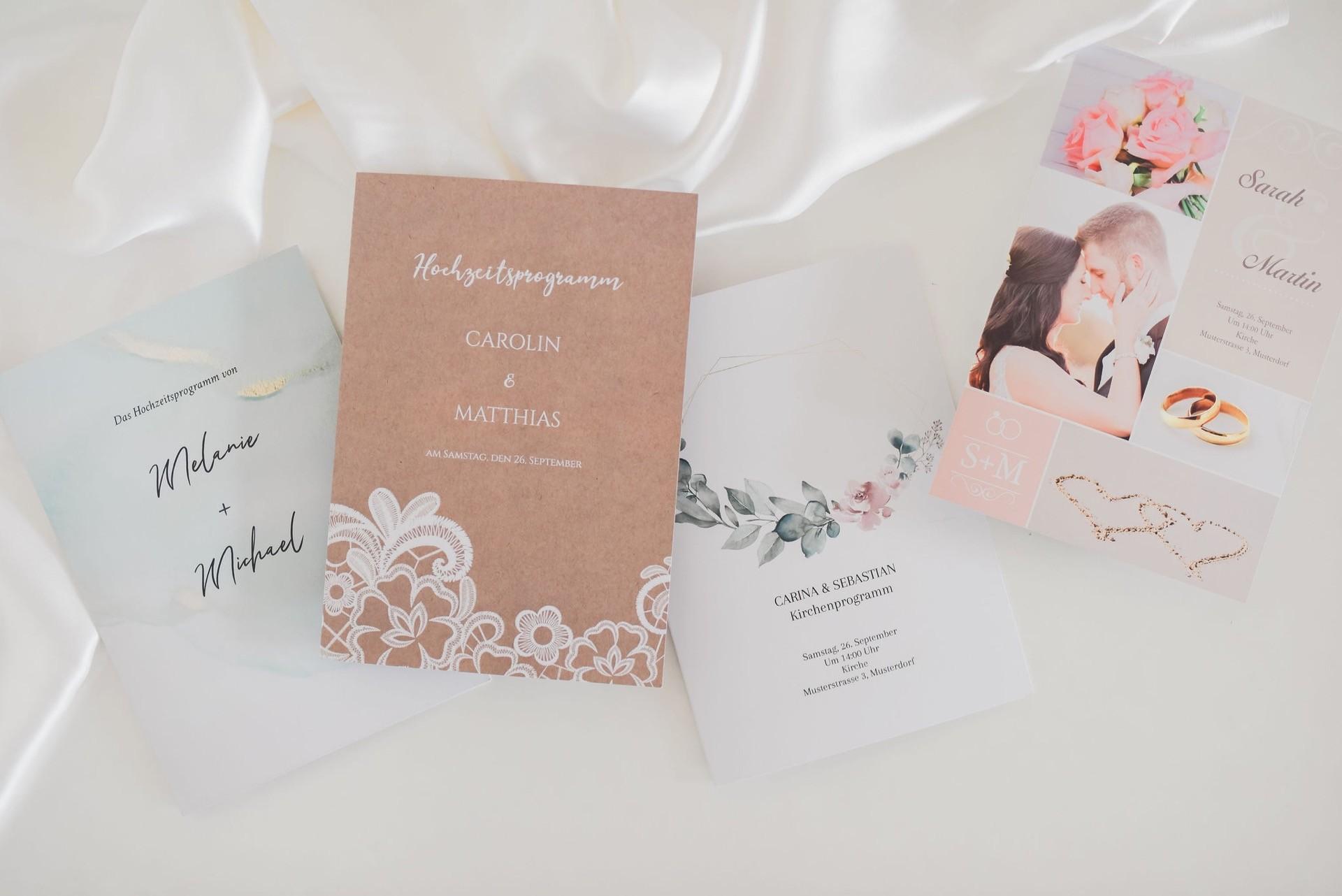 Hochzeitspapeterie von Honeymoments