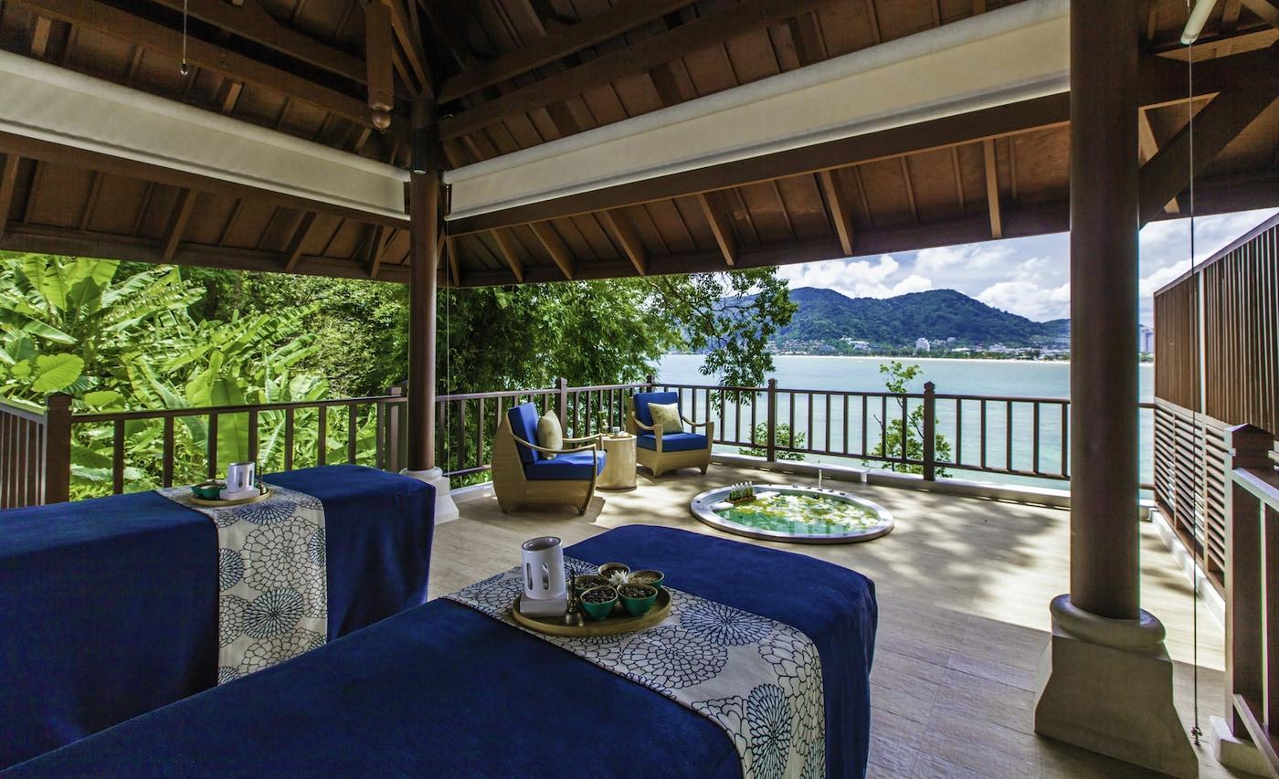 Spa-Bereich im Amari Phuket