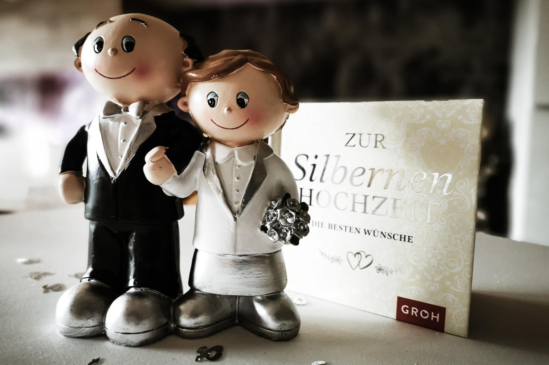 25.Hochzeitstag Silberhochzeit