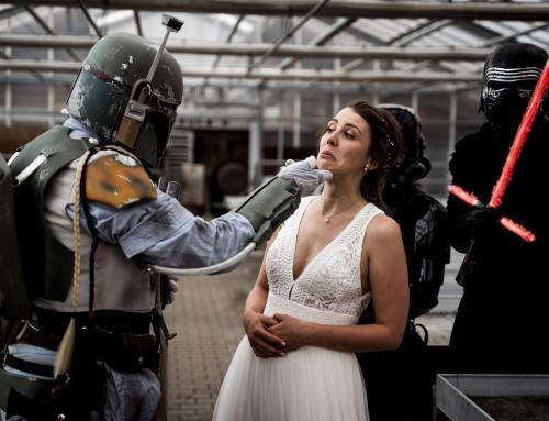 Real Wedding: Boho meets Star Wars