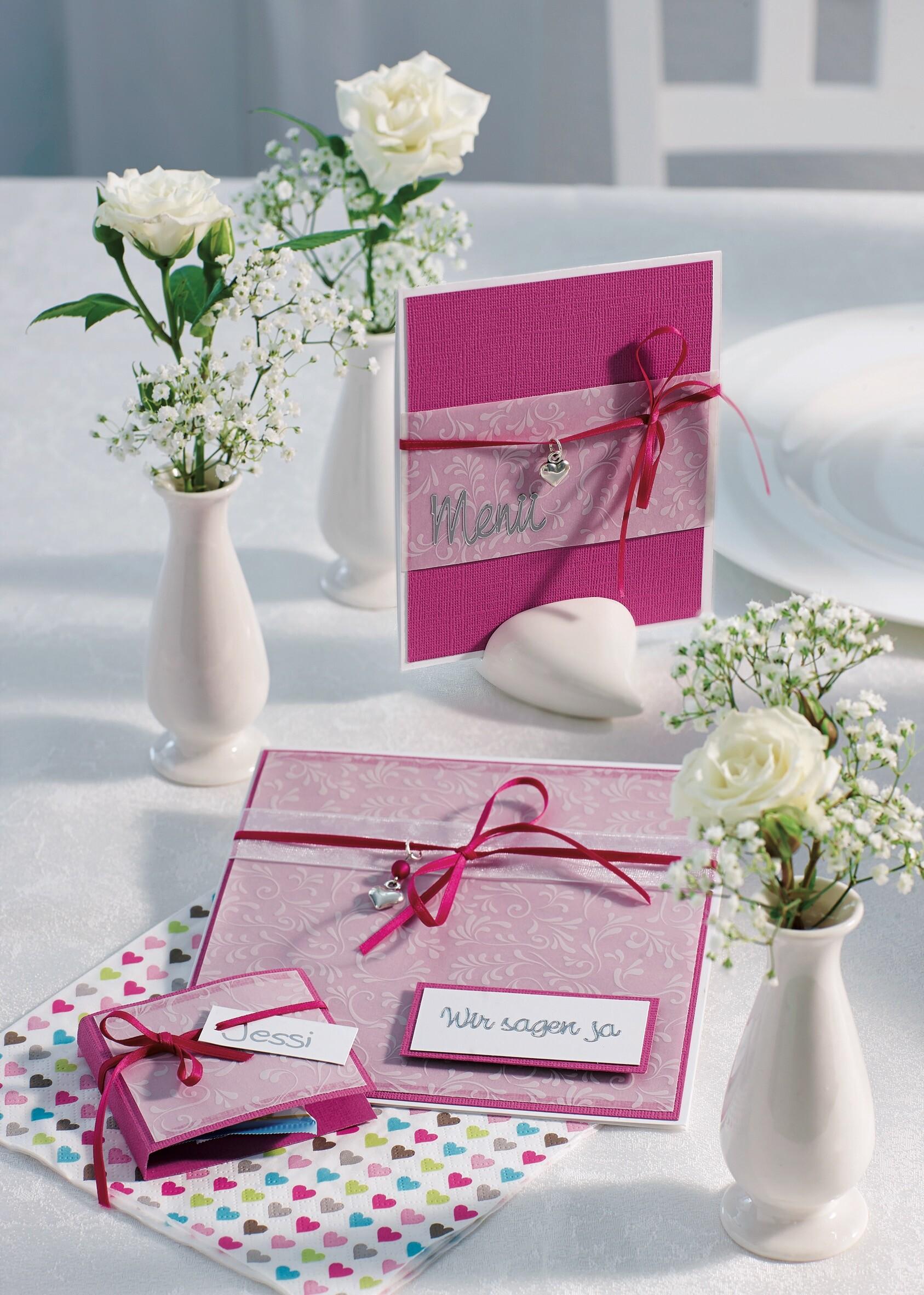 Hochzeit – Einladungen & Tischkarten von Gudrun Müller