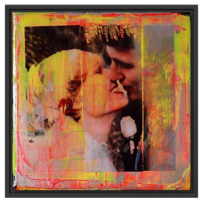 individuelles und gerahmtes Kunstwerk eurer Hochzeit von Great Gallery