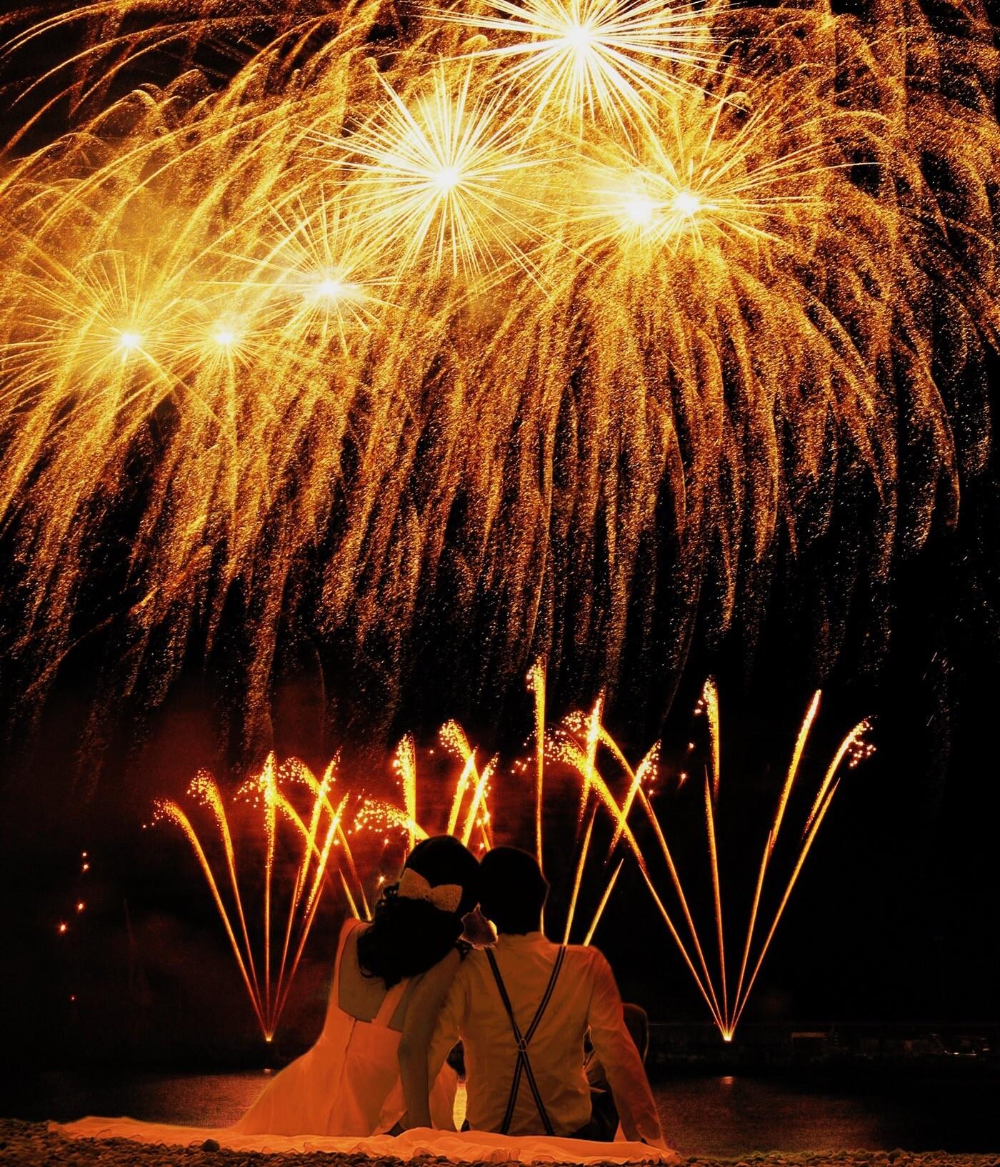 Hochzeitsfeuerwerk von Röder-Feuerwerk
