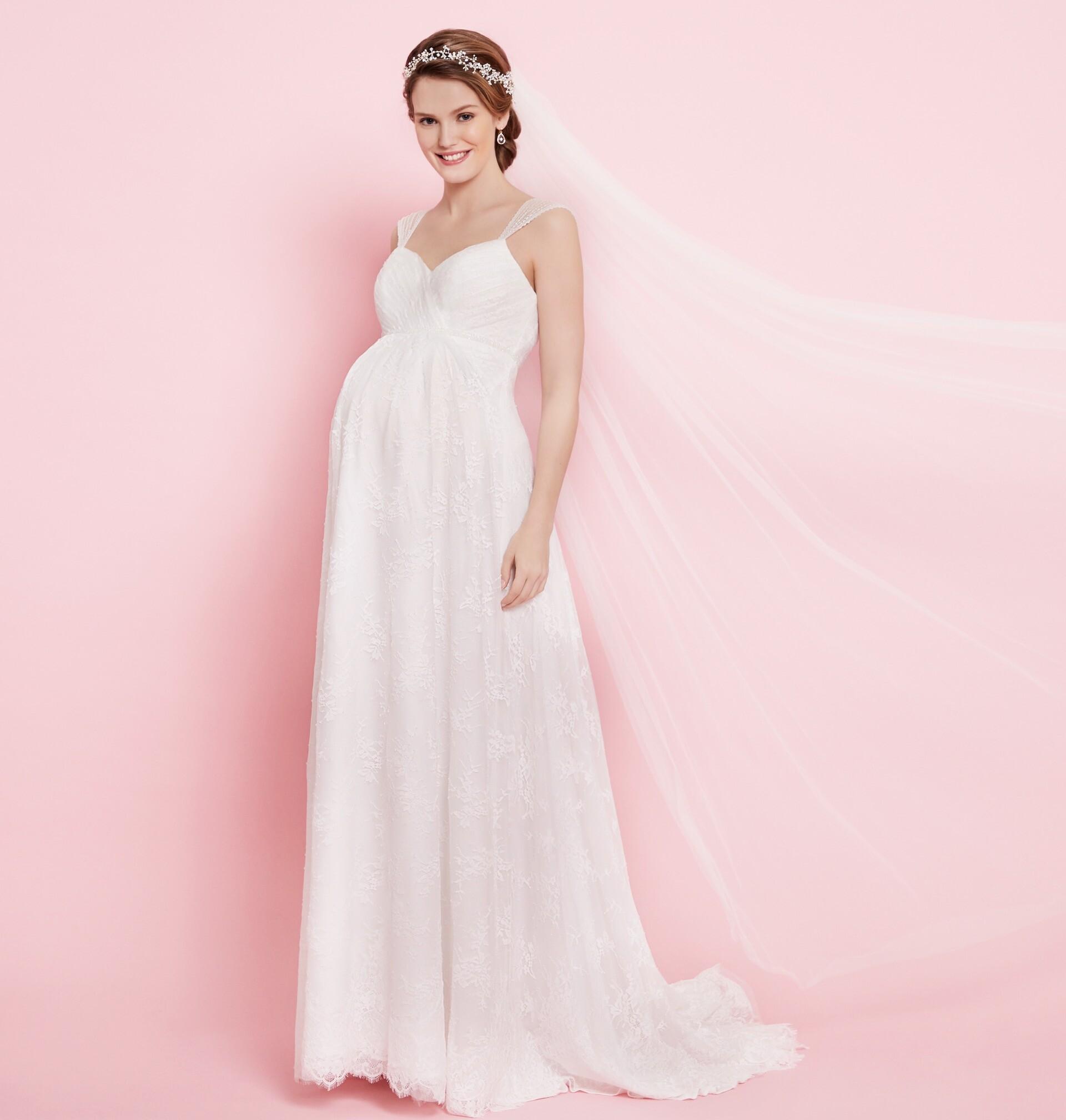 Brautkleid von Maternity by Lilly Style 08-2606