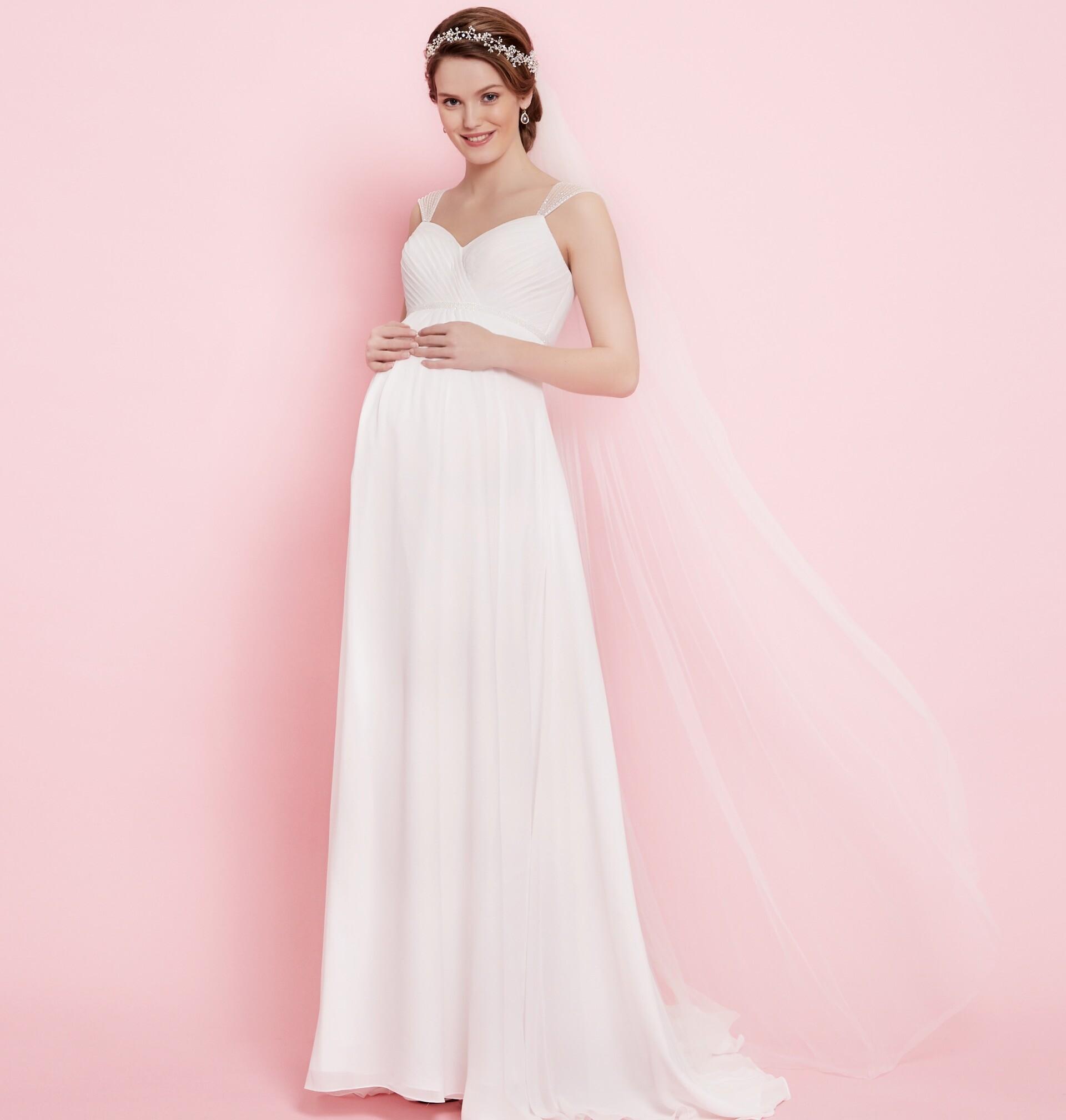 Brautkleid von Maternity by Lilly Style 08-2608