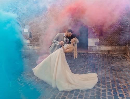 Ein Hochzeitsmärchen in Türkis