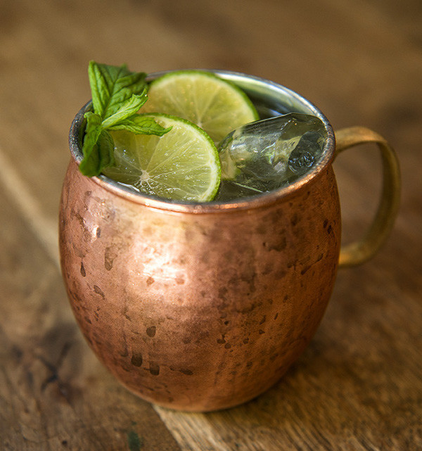 Moscow Mule Cocktail-Rezept